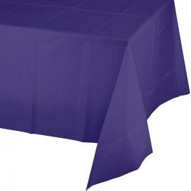 Mantel de Plástico 274 X 137 cm Púrpura