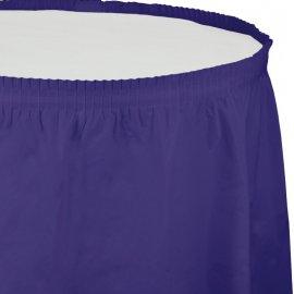 Faldón De Mesa 426 X 74 cm Púrpura