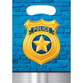8 BOLSAS 23 x 16 POLICE PARTY