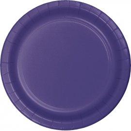 8 Platos 23 cm Púrpura