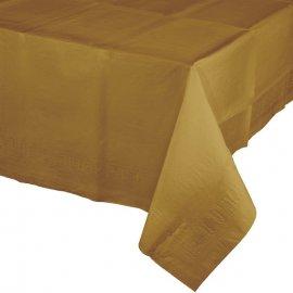 Mantel De Papel Oro 274 X 137 cm