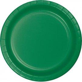 8 Platos 18 cm Verde