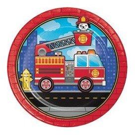 Flaming Fire Truck